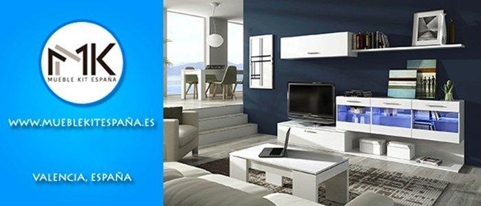 Mueble kit espa a decoraci n del hogar oficina o lugar for Hogar del mueble