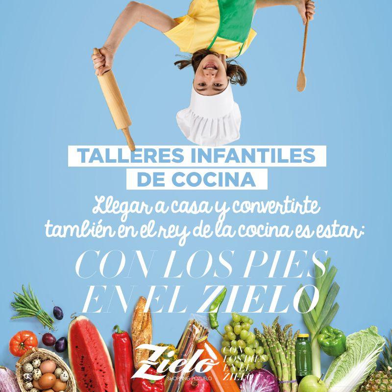 Talleres infantiles gratuitos de cocina en zielo shopping - Talleres de cocina infantil ...