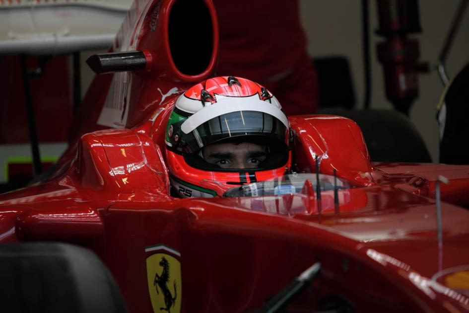 Ferrari probó a tres nuevos pilotos (Jesús Mendoza ©)