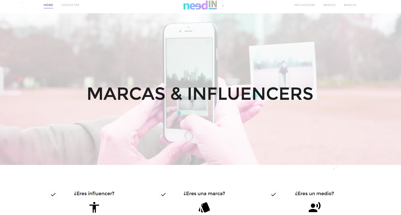 needIN.es conecta a marcas con influencers