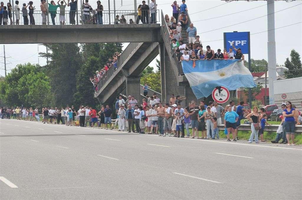 El público argentino abarrotó las carreteras (Miguel Cañigral ©).