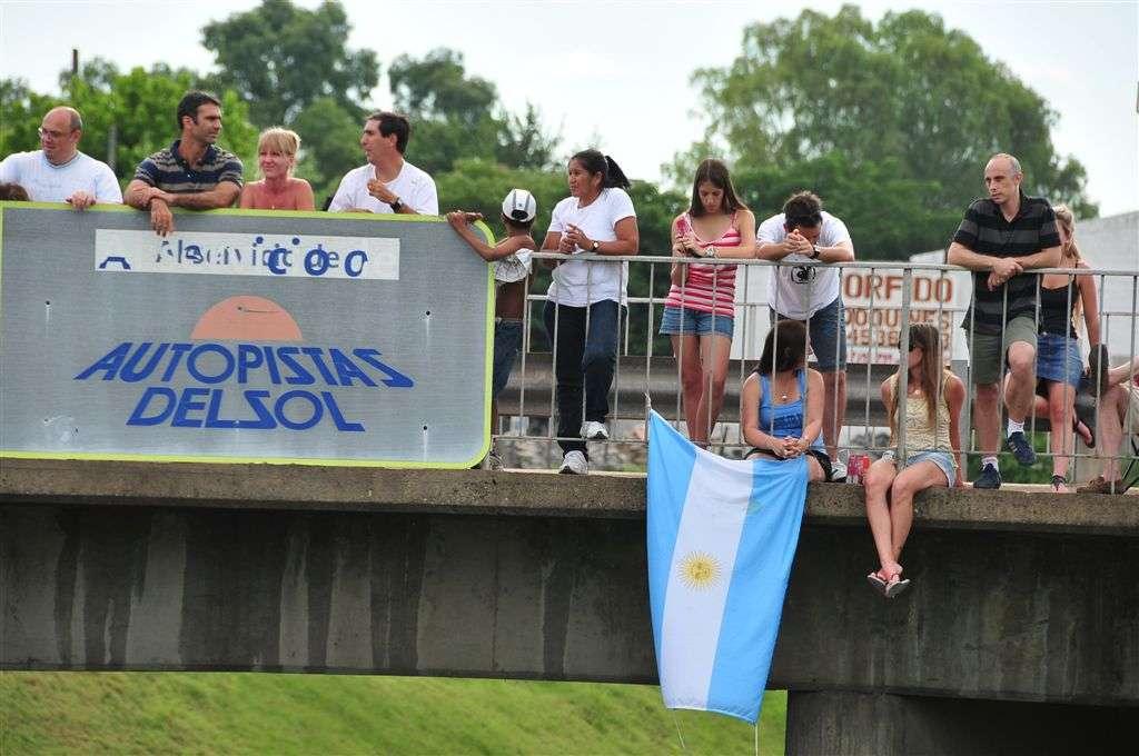 Público más cauto en los puentes (Miguel Cañigral ©).