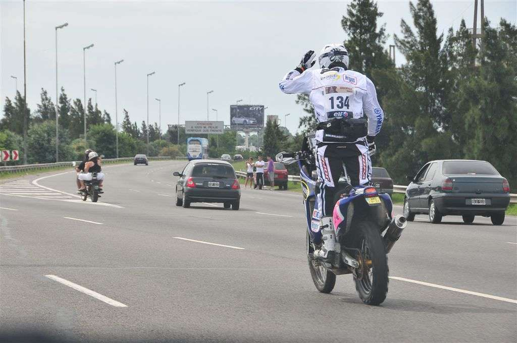 El neerlandés Wim Jaquet a bordo de su Yamaha (Miguel Cañigral ©).