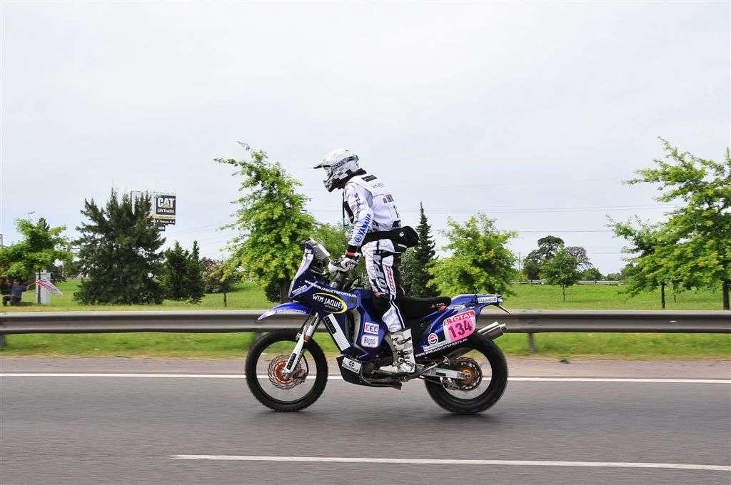 Wim Jaquet y su Yamaha (Miguel Cañigral ©).