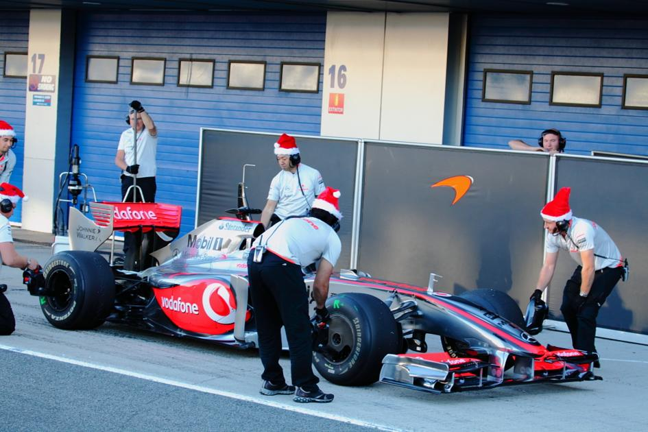 Los mecánicos de McLaren (Jesús Mendoza ©)