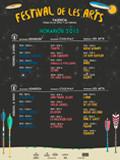 Horarios del Festival de les Arts