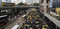 La Policía de Hong Kong extrema la seguridad en las manifestaciones