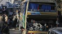 Nueve muertos en el atentado contra un autobús de peregrinos libaneses