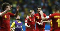 Bélgica suda para meterse en cuartos