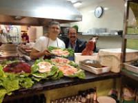 Restaurante Altamirano, atractiva cocina andaluza en una plaza jalonada de flores