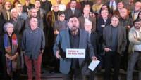 Junqueras lanza su plan independentista sin avalar la lista unitaria de Mas