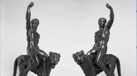 Descubren dos figuras de bronce obra de Miguel Ángel