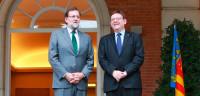 Rajoy se compromete con Puig a estudiar reformar la financiación