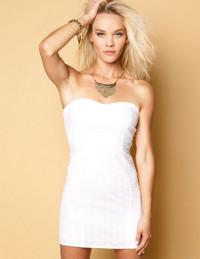 Cinco vestidos blancos para esta temporada