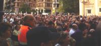 Miles de personas conmemoran el octavo aniversario del accidente de metro de Valencia