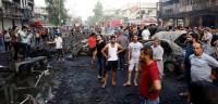 Aumenta a 167 el número de muertos por el atentado en Bagdad