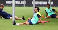 Xavi se lesiona en el entrenamiento