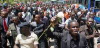 Estudiantes kenianos se manifiestan para exigir más seguridad