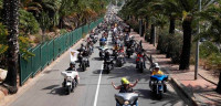 12.000 Harley Davidson desfilan por Barcelona