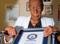 La persona más anciana del mundo cumple 116 años