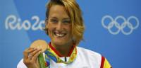 Mireia Belmonte inaugura el medallero español con bronce