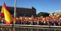 Multitudinaria concentración en Madrid a favor de la Constitución y la unidad de España
