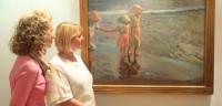'Las tres hermanas en la playa' de Sorolla, a subasta