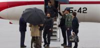 Llegan a Torrejón los tres periodistas españoles liberados en Siria