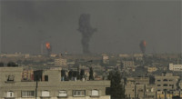 El Ejército de Israel bombardea 50 objetivos en la Franja de Gaza