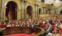 Aprobada la 'Ley fundacional de la república catalana' pese a la suspensión del TC