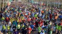 El 15% de los corredores que alcanza la meta en un maratón necesita alguna atención sanitaria