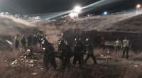 Aumentan a 14 los muertos al salirse un autobús de la carretera de Calasparra