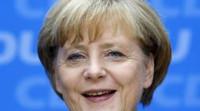 Merkel interrumpe brevemente una entrevista televisada tras sufrir un mareo