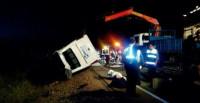Mueren cinco niños en un accidente de tráfico en Castuera (Badajoz)