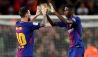 'Manita' y 'hat-trick' de Messi para herir al Espanyol