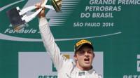 Rosberg resiste ante Hamilton en Brasil y Alonso termina sexto