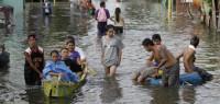 Las inundaciones se retiran de Manila dejando 60 muertos
