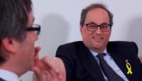Torra acepta el encargo pero dice que el presidente legítimo es Puigdemont