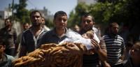 Al menos 89 palestinos muertos por los bombardeos israelíes