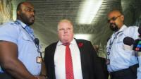El polémico alcalde de Toronto, hospitalizado
