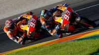 Lorenzo firma el mejor tiempo en la primera sesión en Valencia