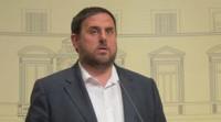 Junqueras urge a unas elecciones constituyentes