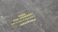 Greenpeace se disculpa por su polémica protesta en  Nasca de Perú