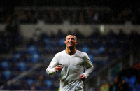 Los jugadores del Real Madrid despiden a Cristiano, un
