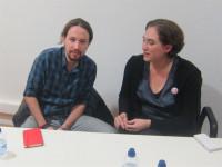 Pablo Iglesias defiende que las instituciones catalanas faciliten el referéndum