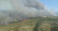 Cinco medios aéreos se incorporarán a las tareas de extinción en el Montgó