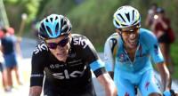 Froome arrebata el segundo puesto a Valverde en Monte Castrove