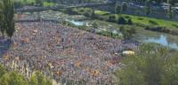 La ANC cifra la participación en la Diada en un millón de personas