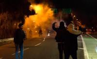Herida de bala una persona durante una protesta contra Trump en Portland
