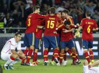 Soldado da a España sus primeros tres puntos (0-1)
